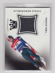 2018 Sportkings Chris Mazdzer Event used relic  Olympian